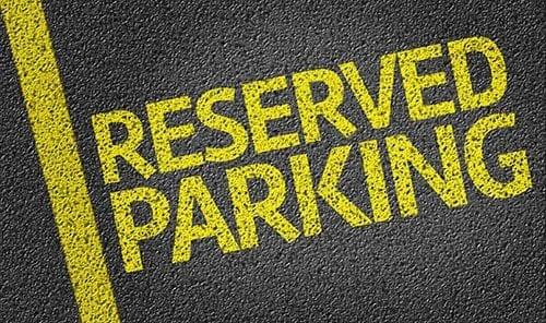 Front parking spaces auction items iidea