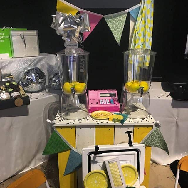 Lemonade Stand Basket