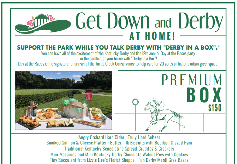 Get Down And Derby At Home Fundraiser Registration Example