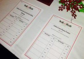 Paper Bid Sheet Auction Management